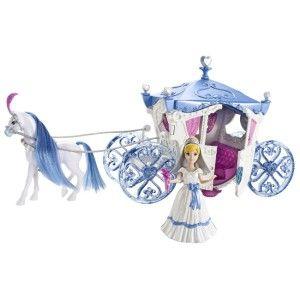 Disney Princess Cinderella Wedding Carriage Coach Doll
