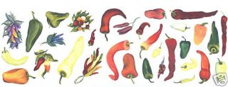 Chili Pepper Mural Wall Decor Stickers Decal
