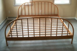 King Bed Frame Headboard by Vermont Tubbs
