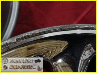 99 00 01 CHRYSLER 300M LHS 17 CHROME WHEELS USED OEM FACTORY RIMS SET