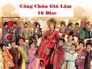 Cong Chua GIA Lam Tron Bo 16 DVD Phim Hongkong 32 Tap