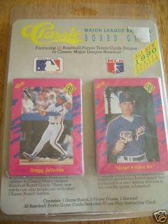 1990 Classic MLB Major League Baseball Board Game 50