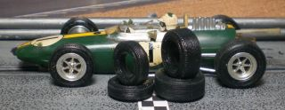 32 Urethane Slot Car Tires 2pr Fit Vintage Revell Monogram Cox K D