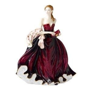 Royal Doulton Pretty Lady Figurine Happy Birthday 2010 Brand New