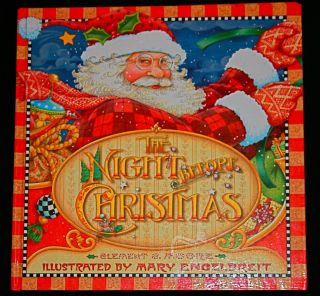 Night Before Christmas by Mary Engelbreit Clement Clarke Moore 2002 HB