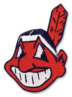 Cleveland Indians Sticker MLB Baseball Logo Patch Retail Value $4 00