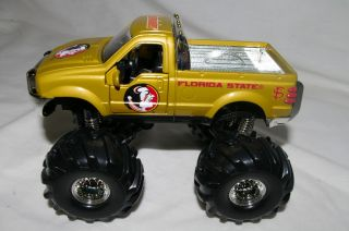Florida State Seminoles Ford F 350 Monster Truck Metal Die Cast