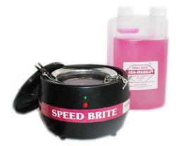 Dental Speed Brite Ionic Cleaner Machine w Basket Cleaner New