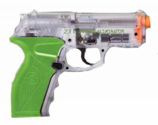 Crosman Zombie Eliminator C02 Airsoft Pistol Clear Free Shipping!