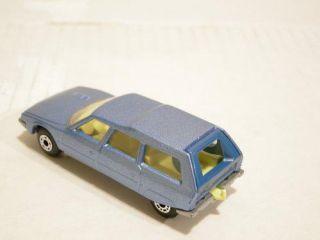Lesney Matchbox Superfast Cars 74 Cougar Villager 12 Citroen CX