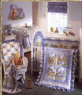 Classic Pooh Friends 3 PC Crib Bedding Set