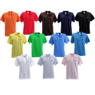 Lacoste Short Sleeve Classic Pique Men's Polo Shirt
