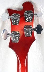 05 Rickenbacker 4003 4 String Electric Bass Guitar w/OHSC  Fireglo