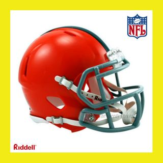 Cleveland Browns Official NFL Mini Speed Football Helmet by Riddell