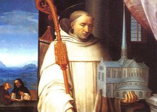 SAINT BERNARD OF CLAIRVAUX, EARLY PATRON OF THE KNIGHTS TEMPLAR