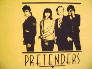 The Pretenders Vintage Retro Style T Shirt Chrissie Hynde