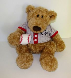 Pottery Barn Gund Clancy Sports Baseball Teddy Bear