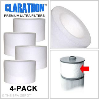 Sundance Spas Micro Clean Spa Filters Microclean 4 Pack FC 2812 6540