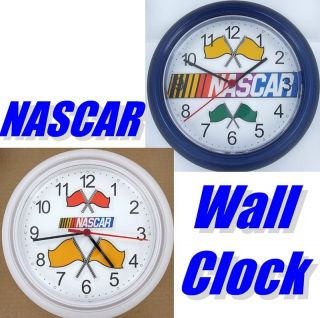 NASCAR Wall Clock Stock Car Race Racing Cars