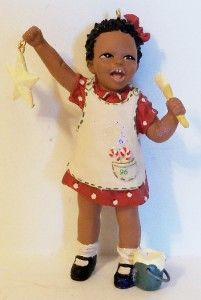 Christie All Gods Children Hallmark Ornament Figurine Martha Holcombe