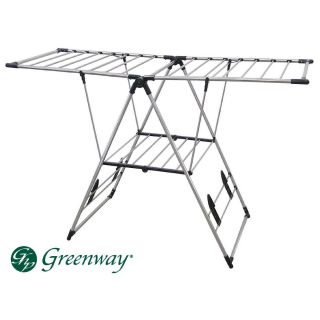 Greenway Collapsible Folding Laundry Clothes Air Dry Drying Rack Heavy