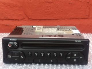 RENAULT PHILIPS RADIO CD PLAYER WITH CODE CLIO MEGANE LAGUNA SCENIC