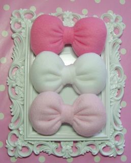 Gift Set Hello Kitty Three Small Bow Hair Clips Teens Girls Kid