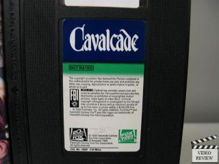Cavalcade VHS Diana Wynyard, Clive Brook, Usula Jeans, Una OConnor