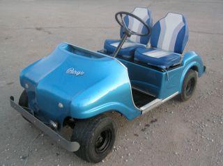 1966 Pargo Golf Cart Car Vintage Antique Golf Club Cart Charger