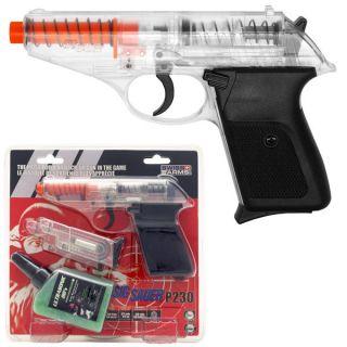 Licensed Sig Sauer P230 Spring Airsoft Hand Gun Clear