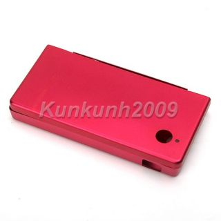 Red Metal Aluminum Hard Case Cover Fr Nintendo DSi NDSi