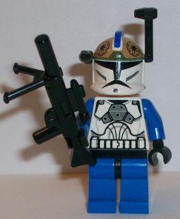 Lego Star Wars Clone Wars Custom Captain Rex Clone Gunner Blaster