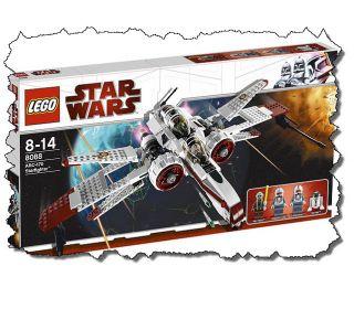 Lego Star Wars The Clone Wars Set 8088 ARC 170 Starfighter MISB Sealed
