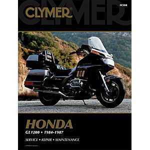 Clymer Repair Service Manual Honda GL1200 Goldwing 84 87