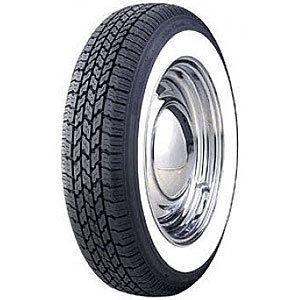 Coker Tire 568745 Coker Classic Nostalgia Whitewall Radial Tire