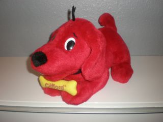 Clifford The Big Red Dog Animated Plush Toy 13 Nice