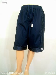 PROCLUB Mesh Basketball Shorts Pro Club Navy s Big 7XL
