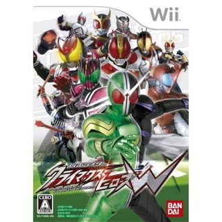 New Wii Kamen Rider Climax Heroes w w Card Japan Game