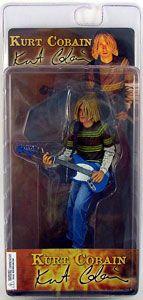 Kurt Cobain Figure NECA Smells Like Teen Spirit Sold Out
