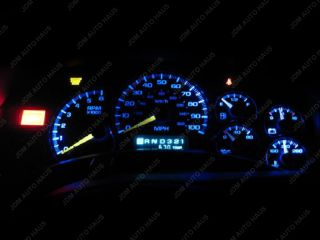 Pair Super Blue T5 5050 SMD Speedometer Gauge Cluster LED Lights 37