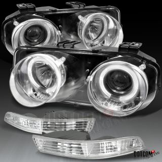 94 97 Acura Integra Projectors Headlights Bumper Chrome