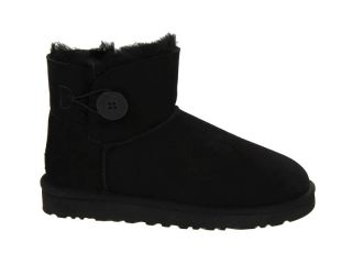 ugg mini bailey button boots 3352 black clearance outlet