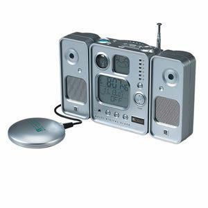 Bonus Oregon Scientific Digital Alarm Clock Radio Kit BARM123