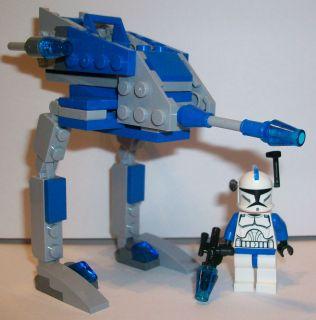Lego Star Wars Clone Wars Custom Captain Rex Clone Trooper & Matching