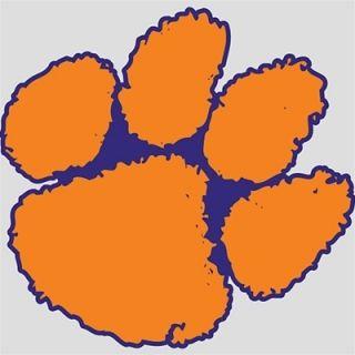 FATHEAD Clemson Tigers QUALITY Cornhole Decal Wall Graphics Logo