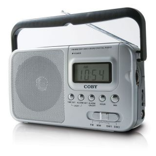 Coby CX39 (CX 39) Portable World Band AM/FM Shortwave Radio w/ Digital