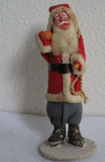 Old Strawbridge Clothier Christmas Santa Clause Figure