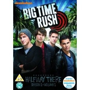 Big Time Rush Season 1 Volume 1   Halfway There (DVD) Carlos Pena