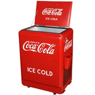 Coca Cola Old Style Coke Machine Refrigerator Great 2nd Fridge