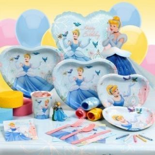 Cinderella Disney Princess Birthday Party Supplies Choose Items You